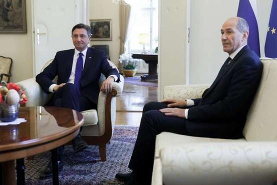 Pahor državnemu zboru predlaga Janšo za predsednika vlade