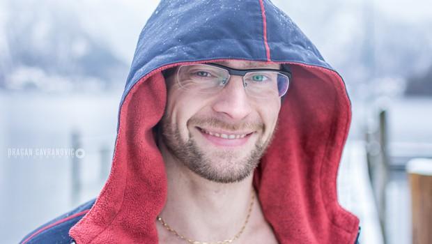"""Prvak v ledenem plavanju Luka Turk: """"Razjokal sem se, priznal, kaj sem počel in prevzel odgovornost"""" (foto: Dragan Gavranovic Photography)"""