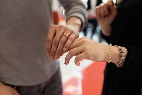 Osvojite poročna prstana