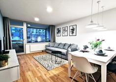 Prej in potem: Premišljena prenova stanovanja v Šiški iz osemdesetih