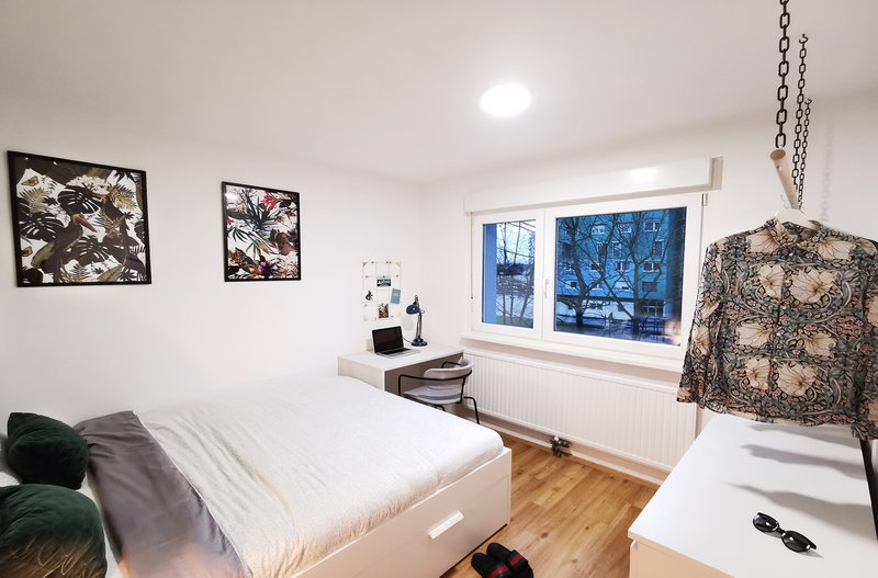 Nova spalnica na račun manjše kuhinje