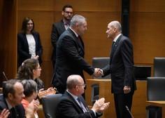 Janeza Janšo izvolili za predsednika vlade