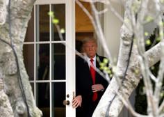 Donald Trump okužene sodržavljane pošilja v službo!
