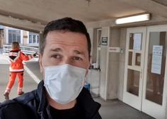 VIDEO: Prvi Slovenec s koronavirusom razkril svojo zgodbo