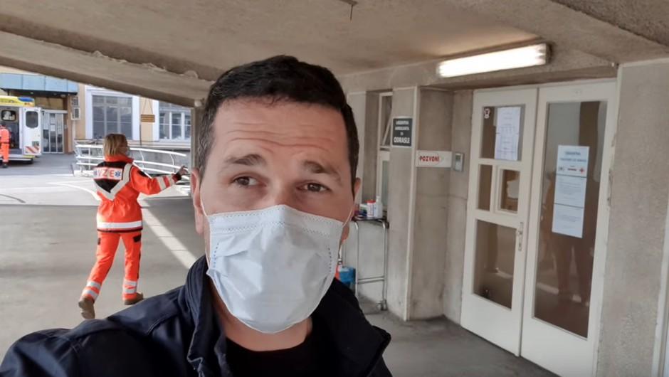 VIDEO: Prvi Slovenec s koronavirusom razkril svojo zgodbo (foto: YouTube posnetek)
