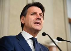 Italijanski premier Conte za celotno Italijo razglasil karanteno