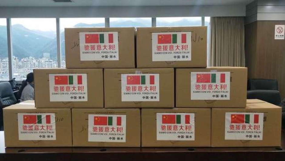 Luigi di Maio hvaležen Kitajski in kritičen do evropskih držav (foto: STA)