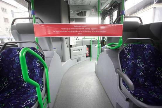 Med novimi ukrepi tudi ukinitev javnega prevoza