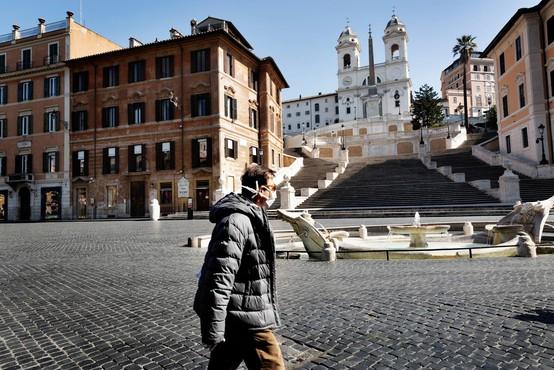 V Italiji največ umrlih zaradi koronavirusa doslej v enem dnevu