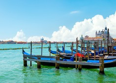 Dobra stran koronavirusa: v Benetkah spet čista voda v kanalih