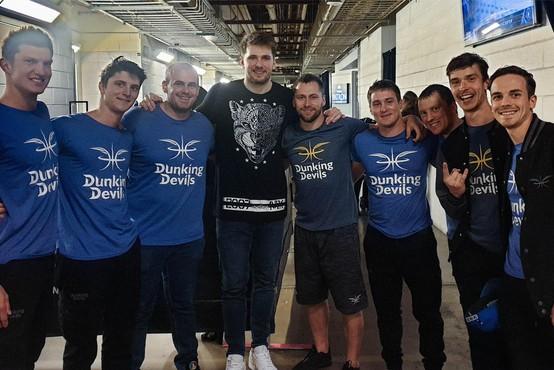 Dallas začutil Slovenijo skupaj z Dunking Devils