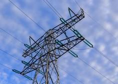 Cena elektrike za gospodinjstva in malo gospodarstvo nižja za petino