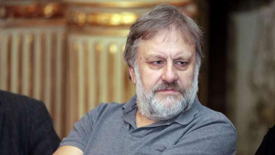 """Slavoj Žižek ob pandemiji: """"Z muko bomo morali zgraditi drugačno normalnost"""" (foto: Hina/STA)"""