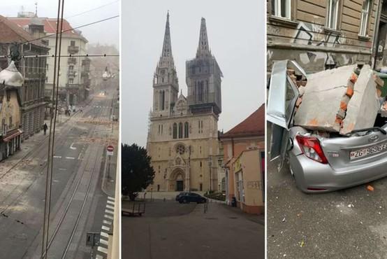 Hrvaško stresel potres z magnitudo 5,3, čutili so ga tudi v Sloveniji
