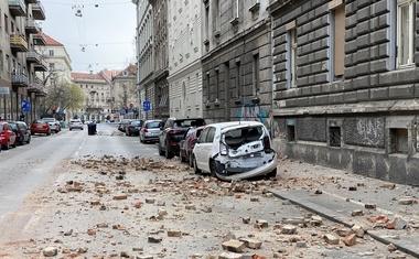 Po jutranjem potresu poziv Zagrebčanom, naj bodo previdni