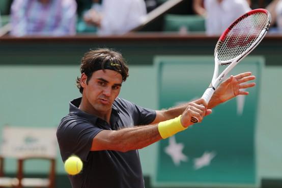 """Roger Federer: """"Sem doma in že nekaj časa se nisem z nikomer rokoval!"""""""