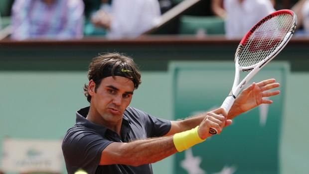 """Roger Federer: """"Sem doma in že nekaj časa se nisem z nikomer rokoval!"""" (foto: profimedia)"""