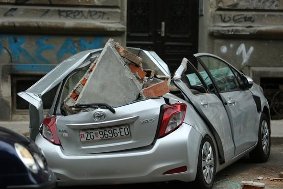To je v dnevni sobi ujela kamera sredi potresa v Zagrebu