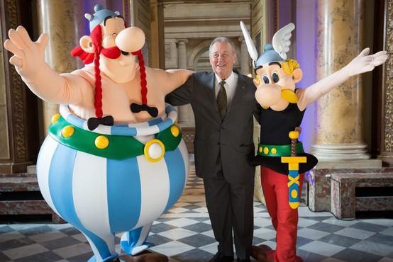 """Poslovil se je """"oče"""" slovitega stripovskega junaka Asterixa"""