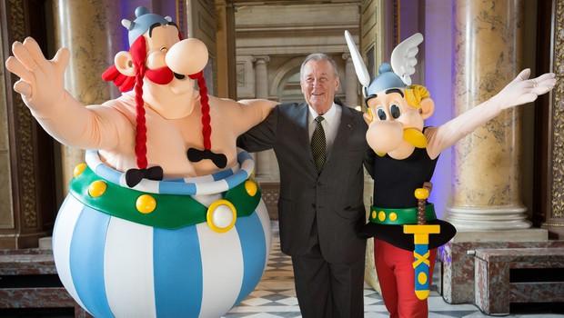 """Poslovil se je """"oče"""" slovitega stripovskega junaka Asterixa (foto: profimedia)"""