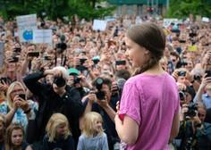 Med okuženimi s koronavirusom tudi mlada aktivistka Greta Thunberg