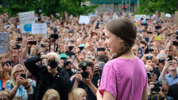 Med okuženimi s koronavirusom tudi mlada aktivistka Greta Thunberg (foto: profimedia)