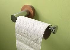 Zaradi kopičenja toaletnega papirja Veliki Britaniji grozi zamašena kanalizacija