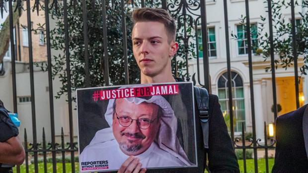 Pred roko pravice v Turčiji 20 obtoženih Savdijcev zaradi umora novinarja Hašodžija (foto: profimedia)
