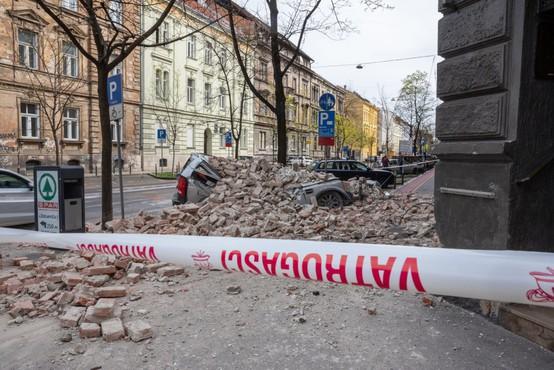 Prva groba ocena škode po potresu v Zagrebu znaša 270 milijonov evrov