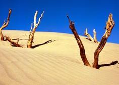Zaradi puščavskega peska močno onesnažen zrak z delci PM 10
