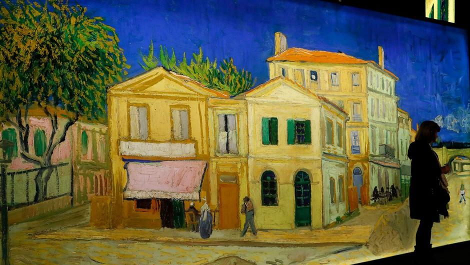 Ob Van Goghovem jubileju dokumentarec na Facebooku (foto: profimedia)