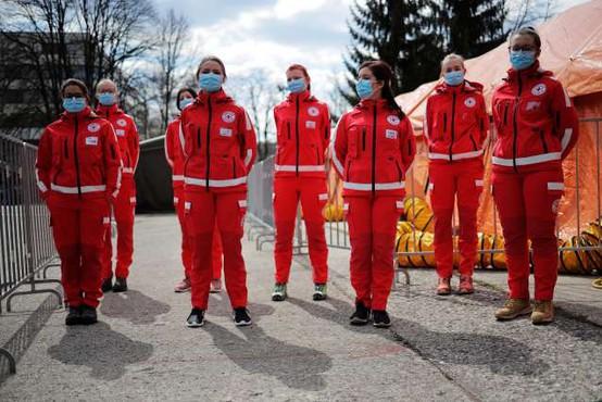 Aktiviranih skupaj 2976 pripadnikov sil za zaščito in reševanje