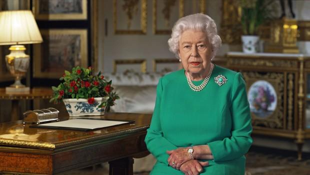 Peti nagovor kraljice Elizabete II. ob pandemiji koronavirusa (foto: Profimedia)
