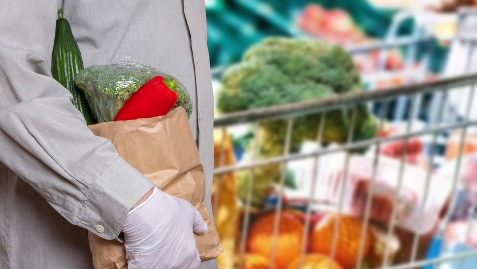 O nakupih potrošnikov v Sloveniji v obdobju trajanja virusa COVID-19 (foto: profimedia)