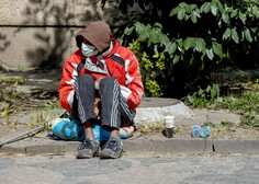 Kralji ulice zaradi epidemije z novim zavetiščem Rimska