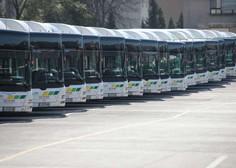 Vozniki ljubljanskih avtobusov razvozijo 515 brezplačnih kosil na dan