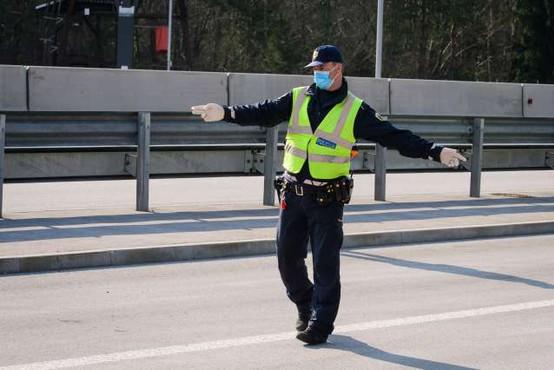 Z novim koronavirusom okuženi štirje policisti