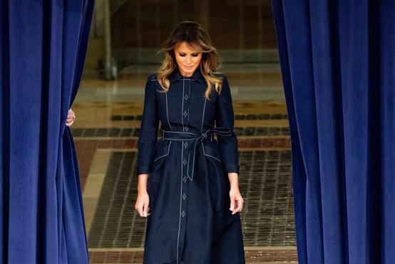 Onkraj luže bo junija izšla nova knjiga o Melanii Trump