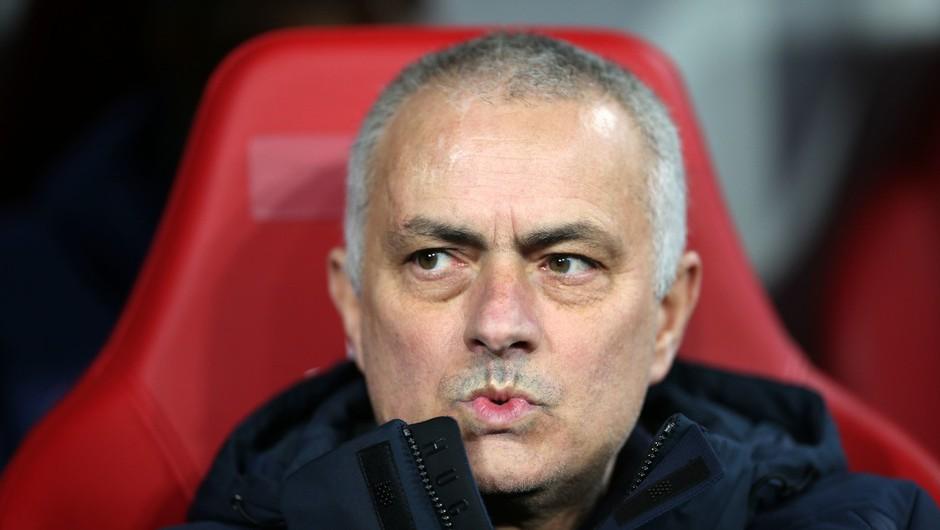 Neposlušnega Joseja Mourinha bi lahko doletela kazen (foto: profimedia)