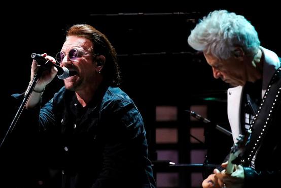 Irskemu zdravstvu so z 10 milijoni evrov priskočili na pomoč člani skupine U2