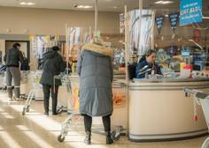 Po nakupih v trgovino poslej z osebnim dokumetom