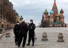 V Rusiji kar 16 odstotkov več primerov kot dan prej