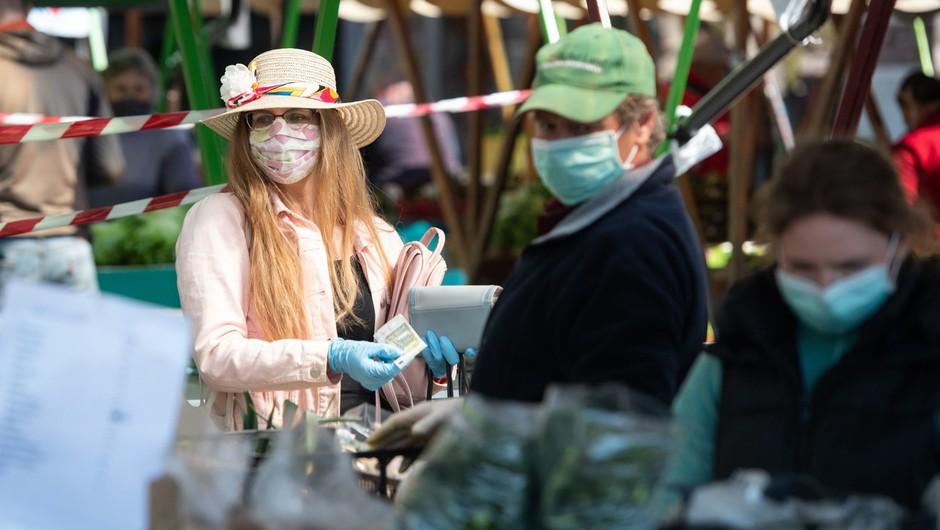 Prvi mesec vlade ocenjen kot uspešen pri obvladovanju epidemije (foto: profimedia)