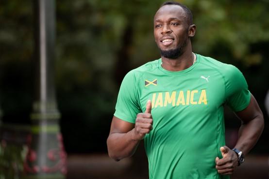 Usain Bolt pri ukrepih proti širjenju koronavirusa pred svojim časom