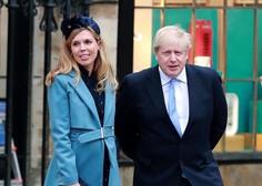 Britanski premier Johnson se bo poročil julija 2022