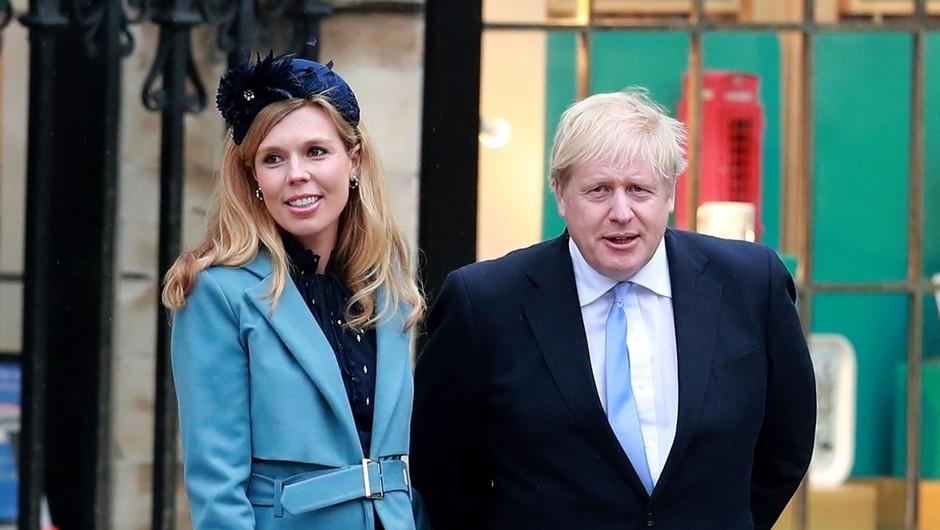 Britanski premier Johnson se bo poročil julija 2022 (foto: Profimedia)
