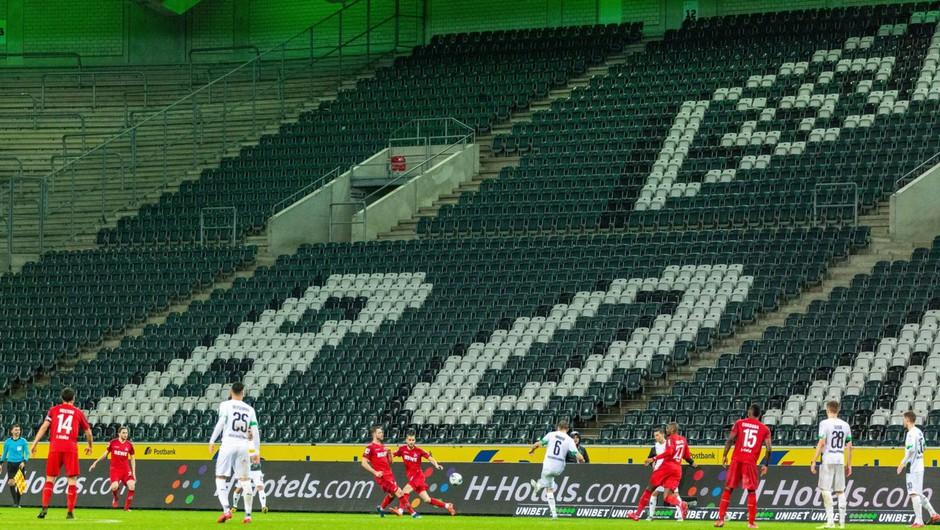 Prazne tribune nogometnih stadionov bodo v Nemčiji popestrili z vizualnimi in zvočnimi efekti (foto: profimedia)