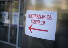 Statistika v Sloveniji: Pet potrjenih okužb, tri smrti