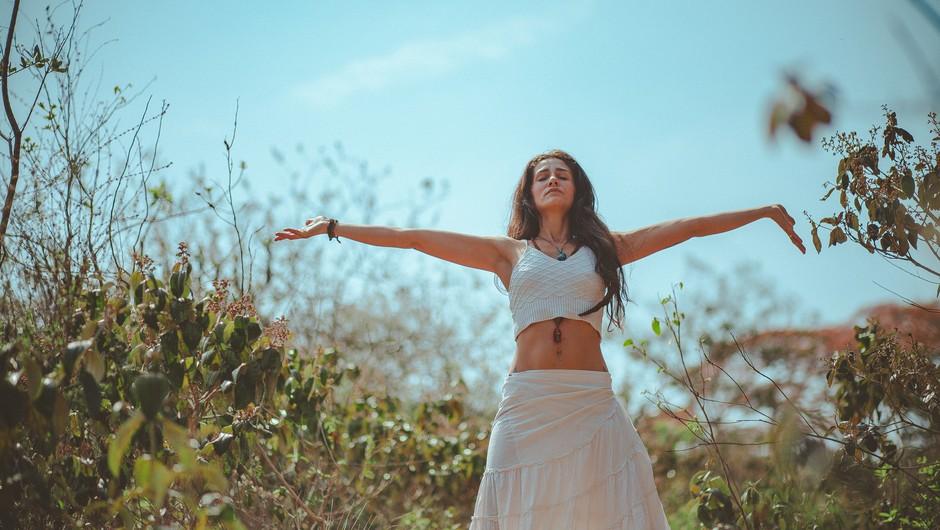 Tudi z meditacijo lahko okrepimo svoj imunski sistem! (foto: Pexels/Lucas Pezeta)
