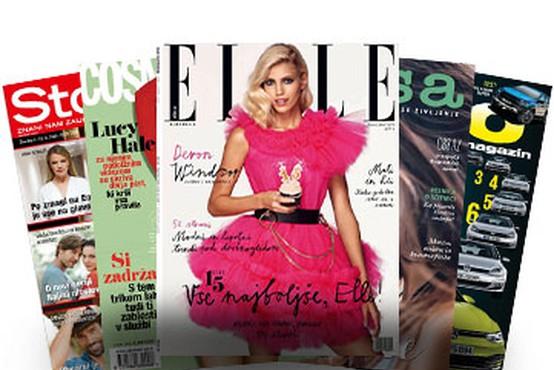 5 celoletnih naročnin revij za samo 10€!